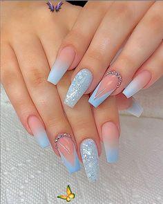 Leaving Facebook  <br> Acrylic Nails Natural, Summer Acrylic Nails, Summer Nails, Acrylic Nail Designs For Summer, Natural Nails, Nail Ideas For Summer, Acrylic Nail Designs Classy, Coffin Nails Designs Summer, Classy Acrylic Nails