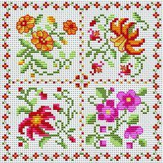 маленькие цветочные схемки, но отличного качества. Обсуждение на LiveInternet - Российский Сервис Онлайн-Дневников