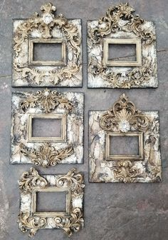 SHOP www.crownjewel.design GORGEOUS Michelle Butler Designs Handpainted & Jeweled Picture Frames