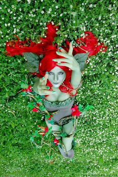 Poison Ivy Cos-Play done right!!  Absolutely gorgeous.