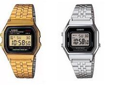 804fa49b43f Relógios Casio modelo vintage quadrado Femininos e Masculinos baratos com  preço de atacado para revenda.