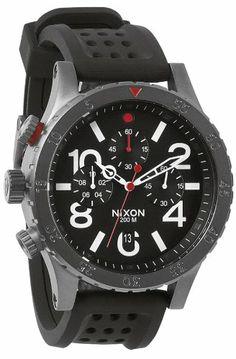 Nixon Men's 48-20 Chrono P Watch - http://www.specialdaysgift.com/nixon-mens-48-20-chrono-p-watch/