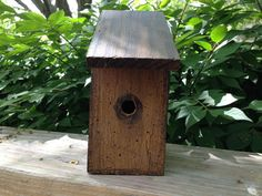 Wooden Tiny BIRDHOUSE*Primitive/French Country Farmhouse Decor*