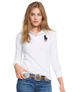 Skinny-Fit Big Pony Polo - Polo Ralph Lauren Polos - RalphLauren.com