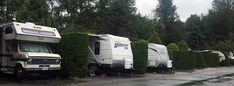 Review of the Burnaby Cariboo RV Park. Most of the Burnaby Cariboo RV Park is like a parking lot with hedges