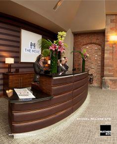 Mere Golf Hotel Reception Golf Hotel, Store Counter, Hotel Reception, Spa, Interiors, Cash Wrap Counter, Shop Counter, Decoration Home, Decor