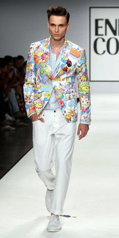 Men's fashion trends spring/summer 2013