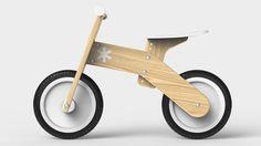 "TREEHAUS WOOD BALANCE BIKE ""Huge impact on a child's life, minimal impact on the environment""    The Treehaus bike develops coordination, balancing..."