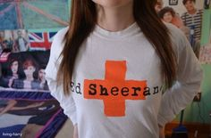 ed sheeran sweatshirt. ♡ oh oh oh oh how I'd love to have this