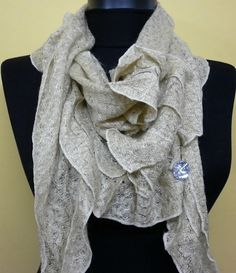 Bleige  Women Shawl Scarf  Headband Necklace Cowl by fatwoman, $19.00