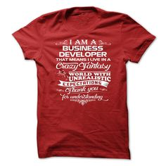 Awesome Business Developer T Shirt