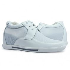 White men height increase casual shoes get taller 7cm / 2.75inches