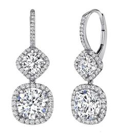 diamond earrings - Google Search