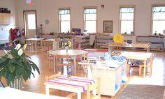 Beautiful Montessori Environment www.peacefulpathwaysmontessori.com