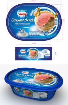 Propuesta imagen helado categoría hogar.