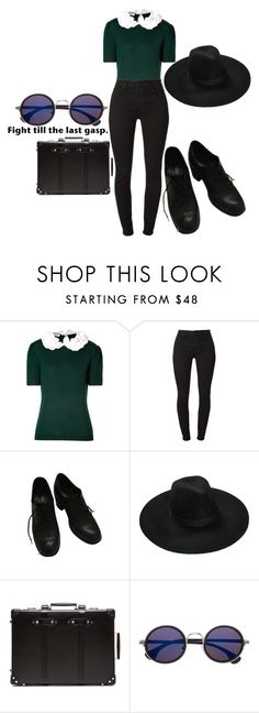 """Untitled #544"" by this-is-my-name-i-suppose ❤ liked on Polyvore featuring Moschino and Killstar"