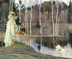 ЛАДА. М.Нестеров. Два лада. 1905