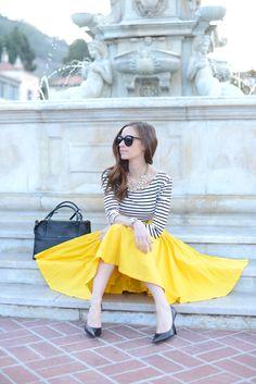 Best Dressed Blogger: M Loves M Read more - http://www.stylemepretty.com/living/2014/01/30/best-dressed-blogger-m-loves-m/
