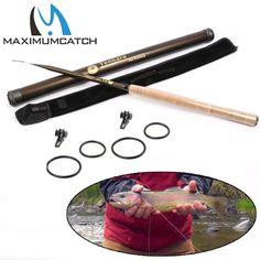 Maximumcatch Classical Tenkara Fly Fishing Rod 10/12/13FT 7:3 ACTION Super Light Traditional Tenkara Rod with Hook keepers