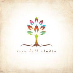 Tree hill studio | Logo Design Gallery Inspiration | LogoMix