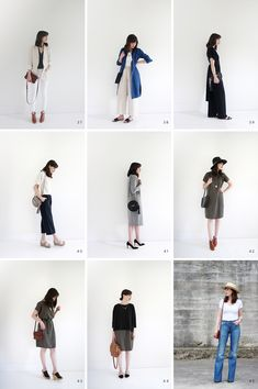 Summer Work Outfits, Basic Outfits, Other Outfits, Minimalist Wardrobe Essentials, Street Chic, Street Style, Outfits 2016, Capsule Wardrobe, Summer Wardrobe