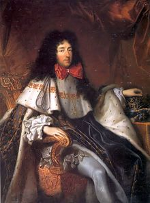 Philippe of France, Duke of Orléans and only brother of Louis XIV, bearing the cross of the Order of the Holy Spirit.jpg