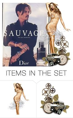 """""""Sauvage"""" by chateaubeau ❤ liked on Polyvore featuring art"""
