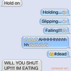 Hilarious Emoji Text Message