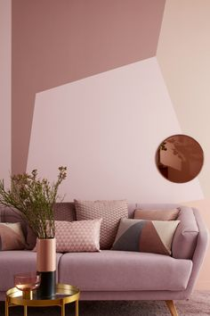 Home Decoration Design Ideas Summer Deco, Rosa Couch, Bedroom Colors, Bedroom Decor, Rose Bedroom, Interior Design Living Room, Interior Decorating, Deco Rose, Blue Rooms