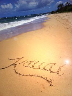 Kauai.  I have been here once before but want to go back with my husband and son.  Such a gorgeous island!