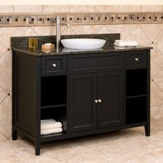 """48"""" Jenner Vanity  with Semi-Recessed Basin"""