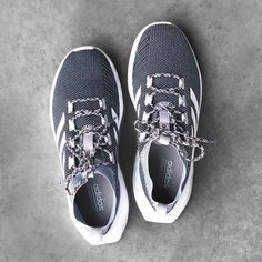 A polished shoe with a fast feel. Tap to shop Questar Ride men's running shoes by adidas. #shoesdaytuesday