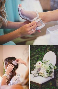 Gorgeous details from a bohemian outdoor wedding. #wedding #bride @Maggie Sottero