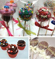 Popcakes, minicupcakes, pirulitos e bem-casados *--*
