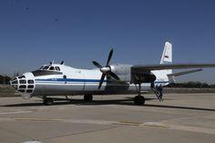 Cielos Abiertos sobre España a cargo de un Antonov An-30B