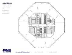 One World Trade Center, Freedom Tower Floor Plans, New York City