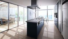 LIXIL <サンバリエ アレスタ>開放感いっぱいのアクティブなオープンキッチン。