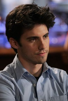 I fell in love with Milo when he portrayed Jess from Gilmore Girls. He should have ended up with Rory. Dean was an idiot, and Logan was a douche bag. I wish Jess would have punched Logan in that episode….  Okay, my rant is over.