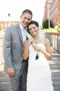 Kyle Sarah, Armour Event Loft Space, North Kansas City MO, Wedding Photography | The Mullikin Studio Bride and Groom