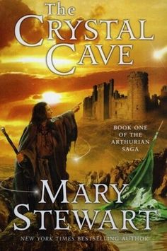The Crystal Cave by Mary Stewart (book 1 of the Merlin Trilogy) Lovely books - again for the fans of the Arthurian Legends I Love Books, Great Books, Books To Read, My Books, Roi Arthur, King Arthur, Book 1, The Book, Nerd