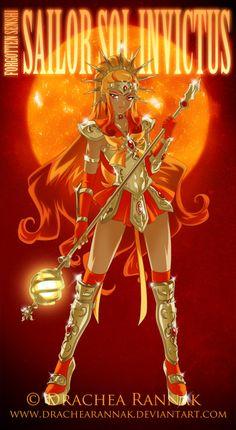 Sailor Sol Invictus by CatOfMoon.deviantart.com