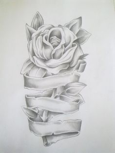 Rose Tattoo Drawing by =Anako-Kitsune on deviantART
