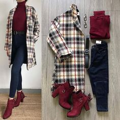 Women S Over 50 Fashion Styles 2015 Info: 8024343072 Winter Mode Outfits, Winter Fashion Outfits, Look Fashion, Korean Fashion, Fashion Dresses, 50 Fashion, Gothic Fashion, Fashion Styles, Latest Fashion