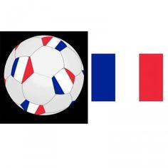 Ce ballon de Football, aux couleurs de la France, sera parfait pour s'amuser entre 2 matchs de votre équipe préférée!