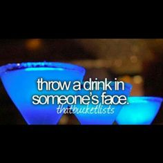 I've always wanted to do that! Hahaha