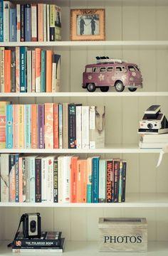 Estante de livros....
