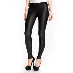 Hip Shaper Sensuous Leather Pant for Women