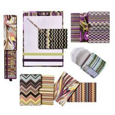 Love fun stationery, particularly card sets. These are perfect. Missoni / Target.