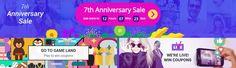Aliexpress birthday sales starts tomorrow - don't miss any deals!  #aliexpress #birthday #sale #discount #coupons