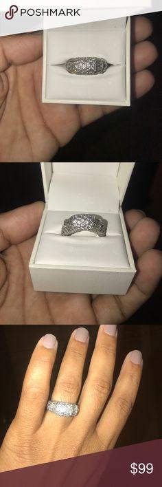 Judith Ripka Sterling Silver Ring Judith Ripka Sterling Silver, 925 Ring Judith Ripka Jewelry Rings